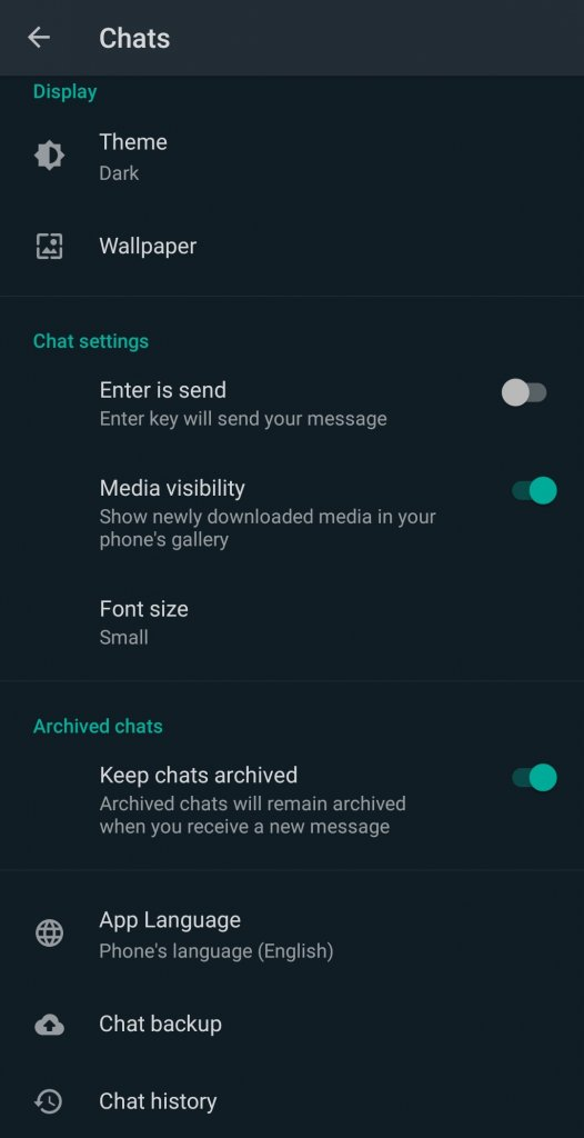 How to Archive All Chats?