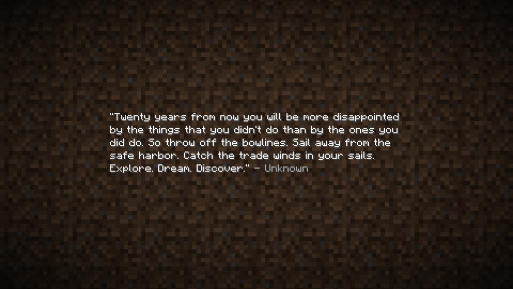 Minecraft End Credits