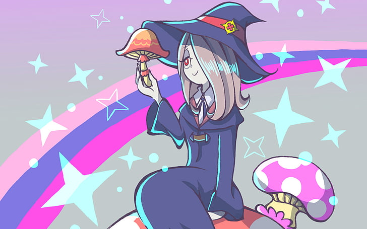 Little Witch Academia;  10 Best Anime For Girls