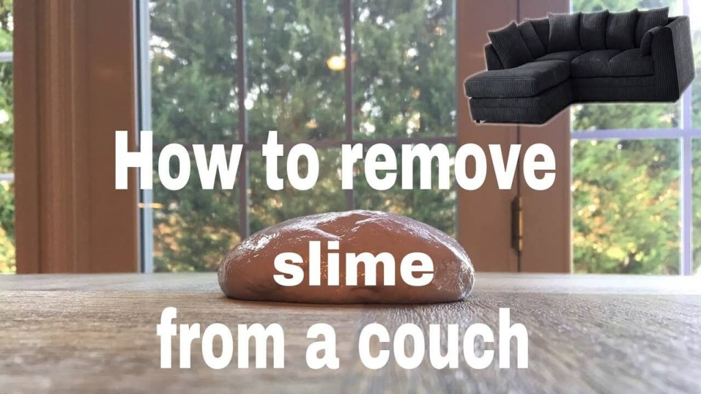 How To Get Slime Out Of Clothes, Furniture & Everything Else