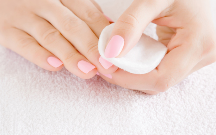 how to remove color street nails.