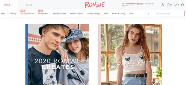 Best Shein Alternatives: Romwe