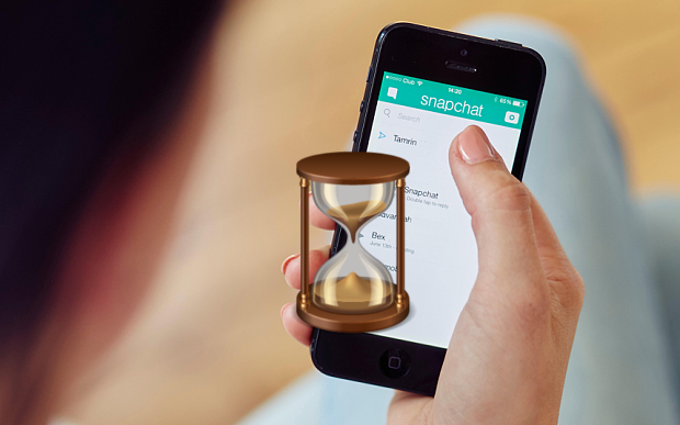 What Does the Hourglass Mean on Snapchat?