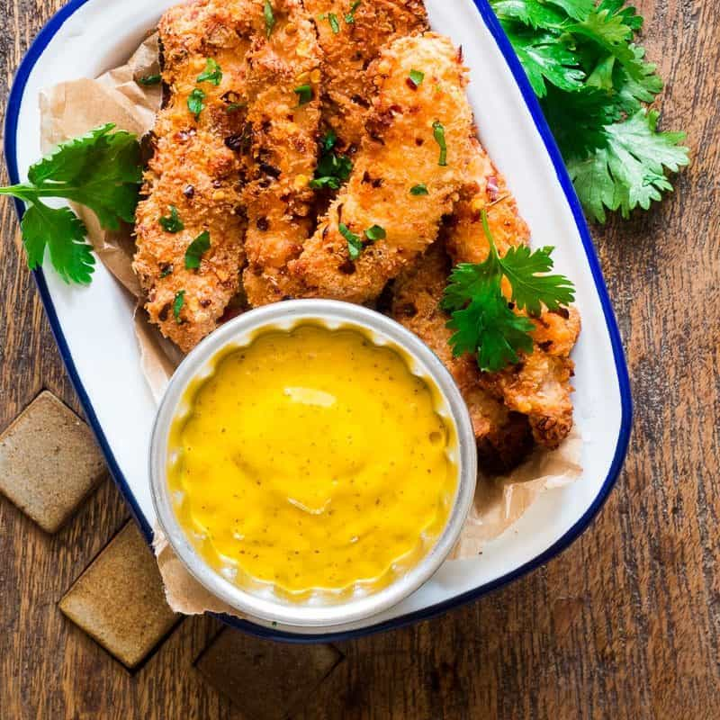 Baked Chicken Tenders; 10 High Protein Low Fat Recipes