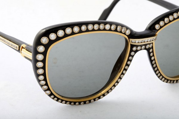 Gold Sunglasses by Cartier Paris; 10 Most Expensive Sunglasses In The World