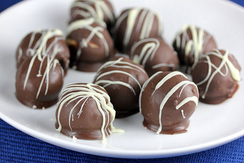 Chocolate Peanut Butter Balls; 10 High Protein Low Fat Recipes