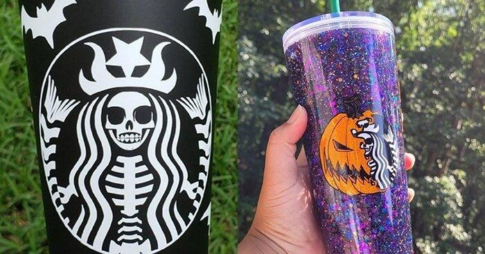 Starbucks' Halloween Cups Collection 2021 | Celebrating Disney's Bday