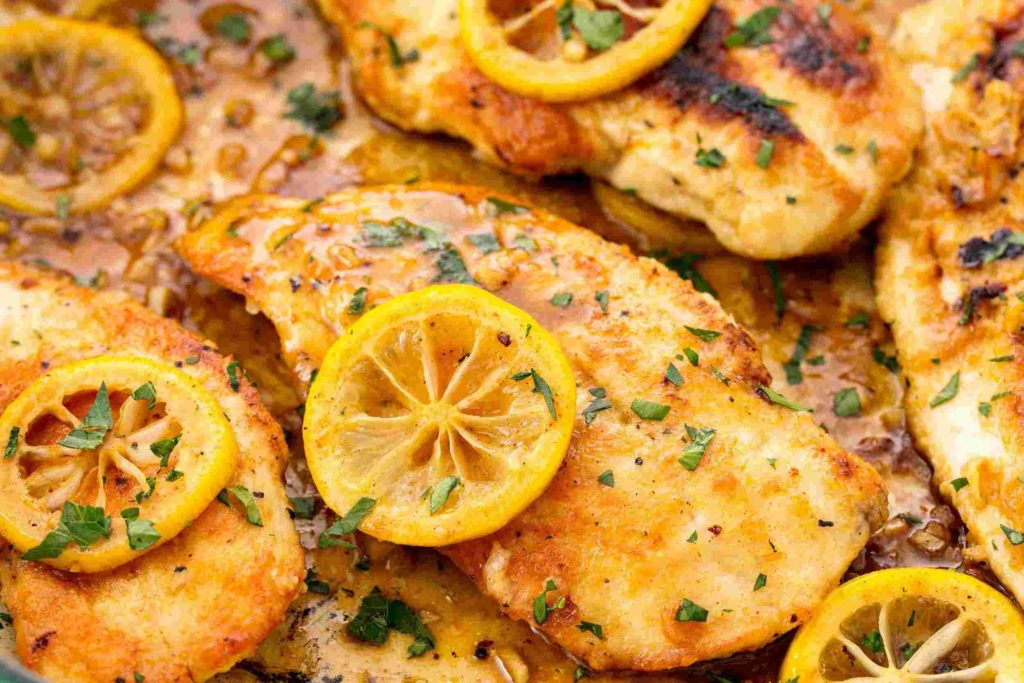 Lemon Pepper Chicken Breasts; 10 High Protein Low Fat Recipes