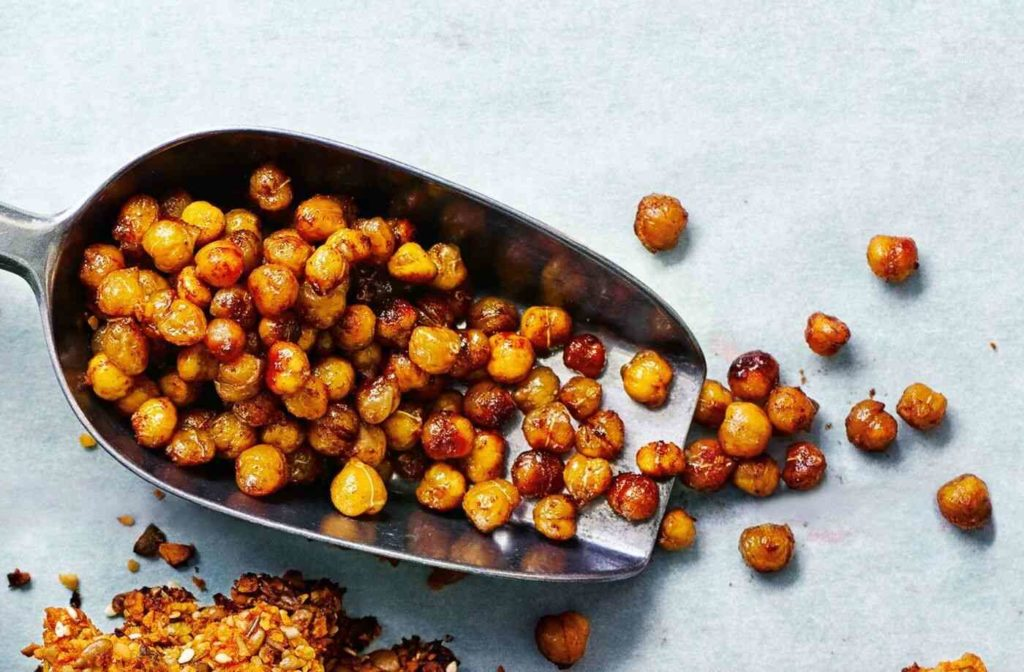 Cinnamon Chickpeas; 10 High Protein Low Fat Recipes