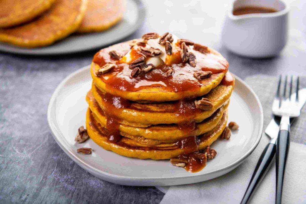 Pumpkin Pancakes;10 High Protein Low Fat Recipes