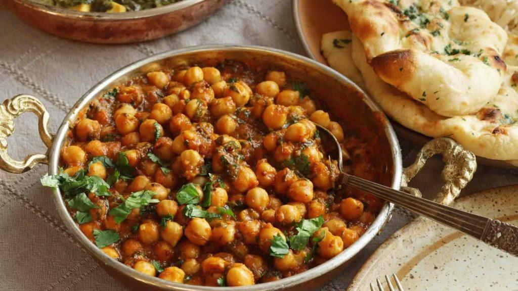 Super Healthy Chana Masala; 10 High Protein Low Fat Recipes