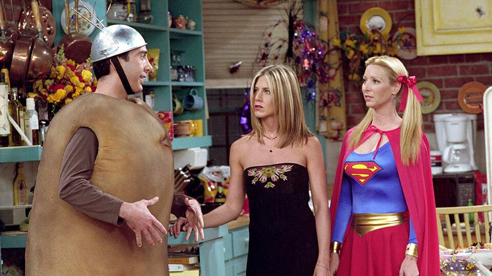 FRIENDS Halloween Costumes | Who Was Best Dressed?