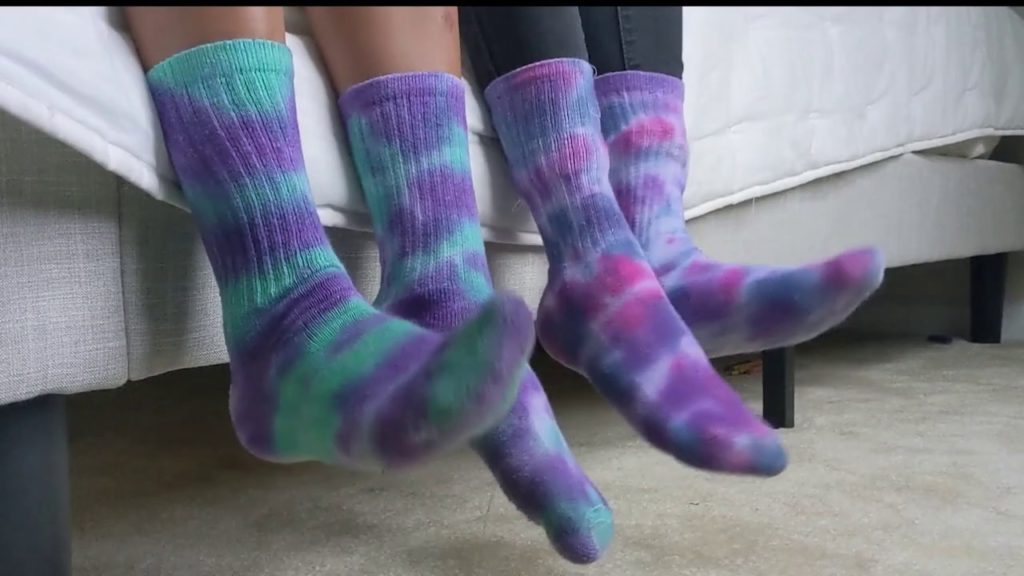 Dyed Ankle Socks