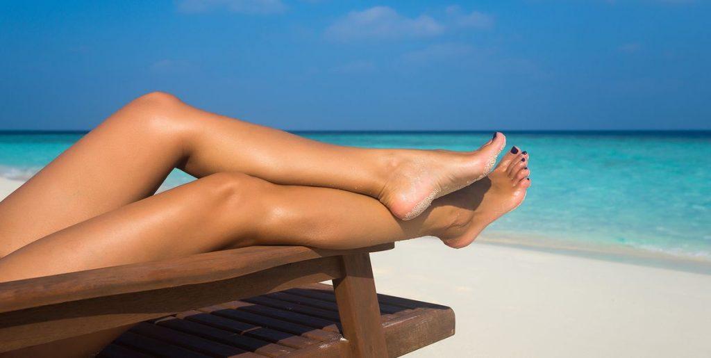 sun-tanning
