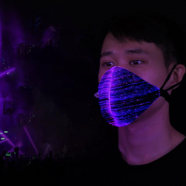 LED Lights Christmas Mask