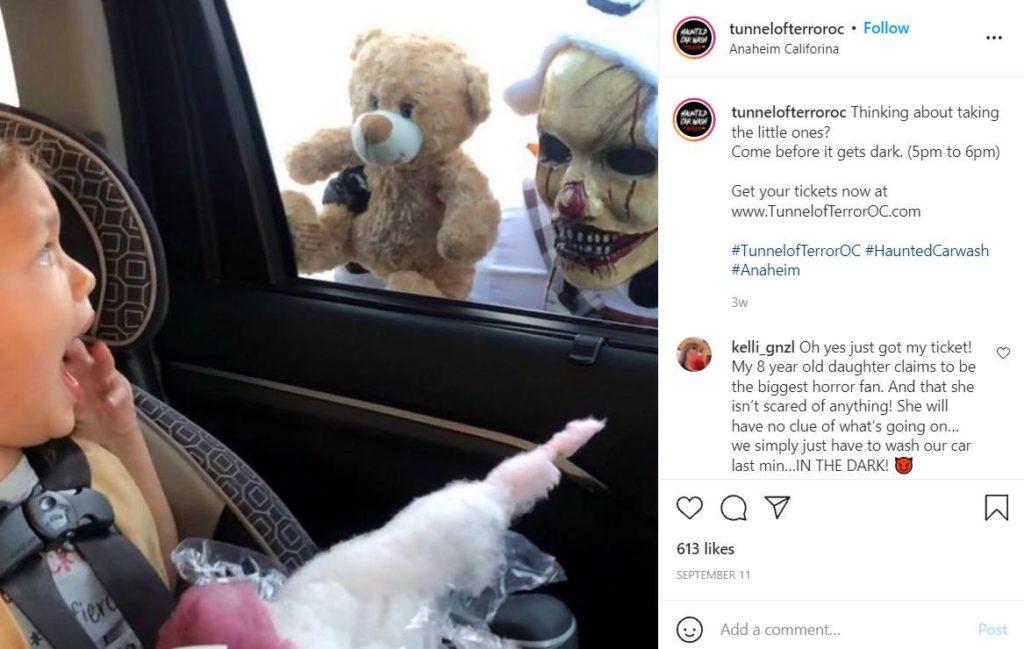 Tunnel Of Terror;  7 Spooky Halloween Events In LA