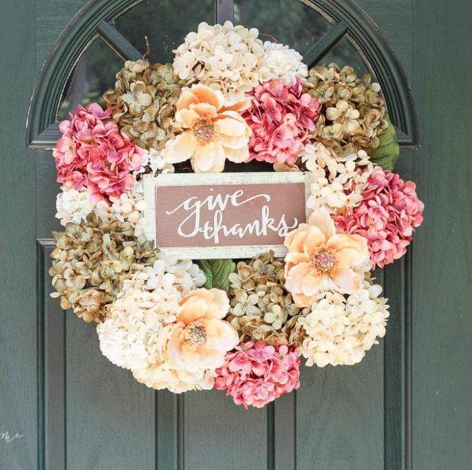 DIY Thanksgiving Wreath Ideas