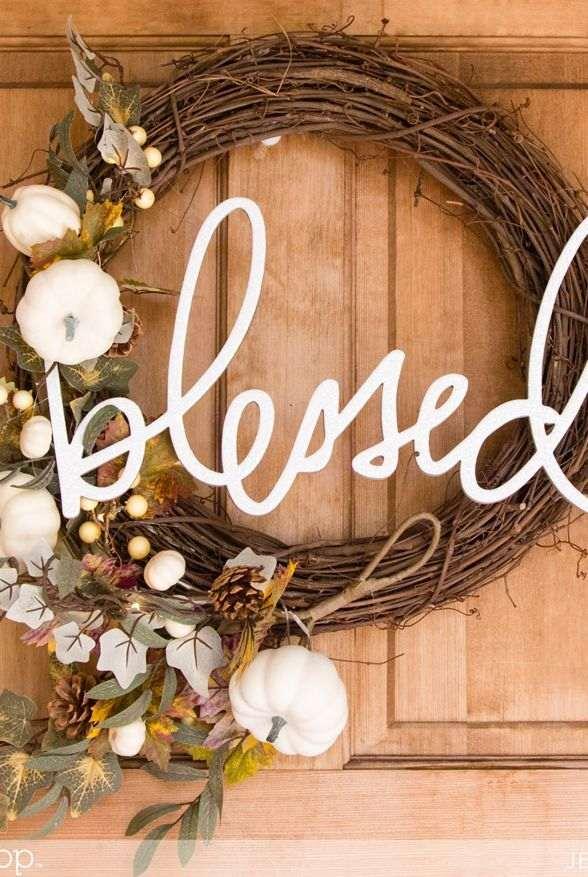 10 DIY Thanksgiving Wreath Ideas That Are Easy & Unique