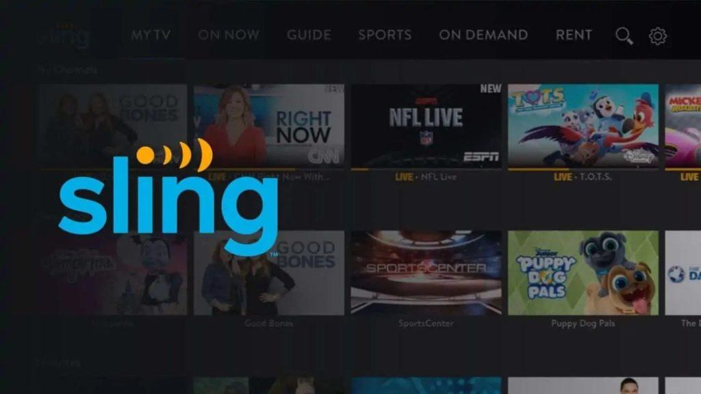 Sling TV; Best PPV App For Firestick 2021